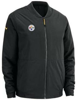 Nike Men's Pittsburgh Steelers Shield Football Jacket Coat