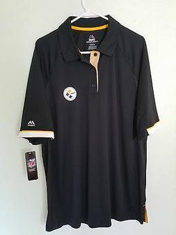 Mens PITTSBURGH STEELERS Sideline DRI FIT Performance Jersey