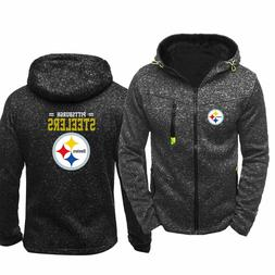 New hot Pittsburgh Steelers Fans Hoodie Sporty Jacket Sweate