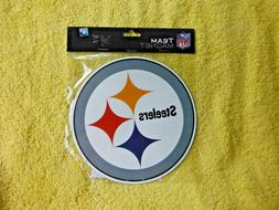 "NEW N BAG! PITTSBURGH STEELERS NFL 6"" 6 INCH MAGNET! FOR CAR"