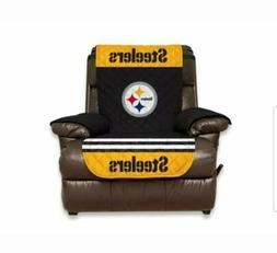 NEW NFL Licensed Pittsburgh Steelers Quilted Recliner Protec