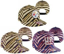NEW NFL New Era 9FIFTY Zubaz Snapback Hat Cap Flat Brim Stee