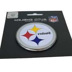 New NFL Pittsburgh Steelers Auto Car Truck Heavy Duty Metal