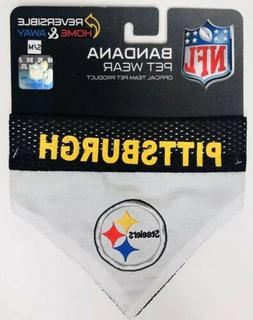NEW NFL Pittsburgh Steelers Reversible Home Away Pet Wear Do