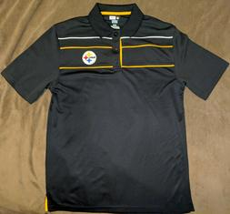 NEW NFL Team Apparel PITTSBURGH STEELERS TX3 Cool Dri Fit Po