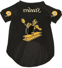 NEW PITTSBURGH STEELERS PET DOG FOOTBALL JERSEY THROWBACK RE