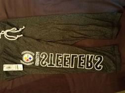 New Women's Pittsburgh Steelers sleepwear knit Pajamas, size