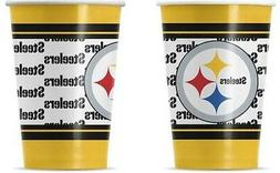 NFL 20  - 16oz. Paper Cups, Pittsburgh Steelers, NEW