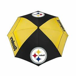 "Team Effort NFL 62"" WindSheer Lite Golf Umbrella Pittsburgh"