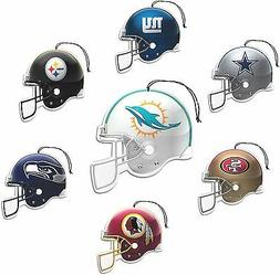 NFL  Air Fresheners ,, 3 Pack,  FOR YOUR CAR,,GREAT GIFT  ST