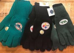 NFL Football Gloves Knit Winter Brand New Women's Men's
