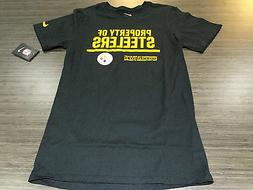 NFL Football Property of T Shirt On Field Pittsburgh Steeler
