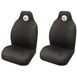 nfl football team pittsburgh steelers seat covers