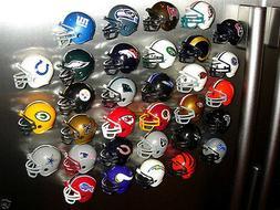 NFL HELMET REFRIGERATOR MAGNETS