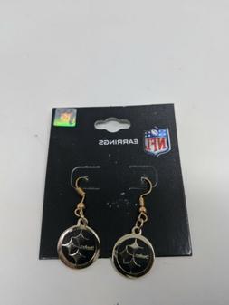 NFL Pittsburgh Steelers Dangle Earrings