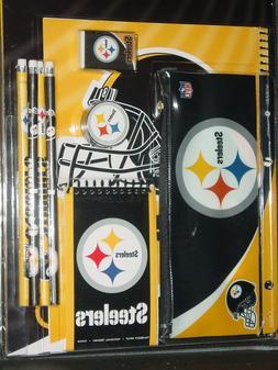 NFL Pittsburgh Steelers 11 Piece School Set