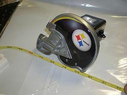 "NFL PITTSBURGH STEELERS  2"" METAL HELMET TRAILER HITCH COVER"