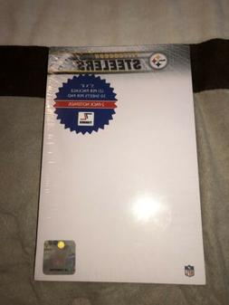 NFL Pittsburgh Steelers 2-Pack Logo Notepads, New