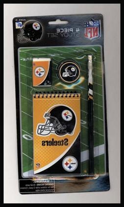 NFL Pittsburgh Steelers 4 Piece School Set