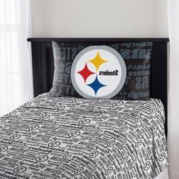 Northwest NFL Pittsburgh Steelers Anthem Twin Sheet Set