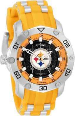 Invicta NFL Pittsburgh Steelers Automatic Black Dial Ladies