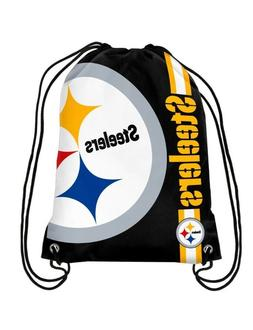 NFL Pittsburgh Steelers Big Logo Side Stripe DrawString Back