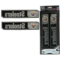 NFL Pittsburgh Steelers Car Truck Edition Badge Color Alumin