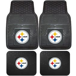new 4pcs nfl pittsburgh steelers car truck