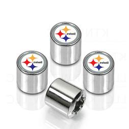 New NFL Pittsburgh Steelers Car Truck Chrome Finish Tire Val