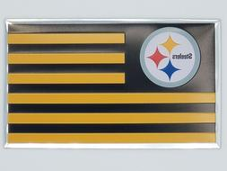 Team Promark NFL Pittsburgh Steelers Color Flag Auto Emblem