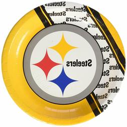 NFL Pittsburgh Steelers Disposable Paper Plate