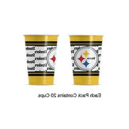 NFL Pittsburgh Steelers Disposable Paper Cups