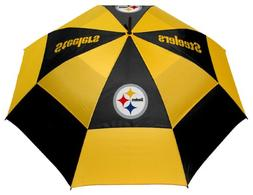 "Team Golf NFL Pittsburgh Steelers 62"" Golf Umbrella with Pro"