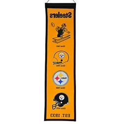 NFL Pittsburgh Steelers Fan Favorite Banner, Yellow