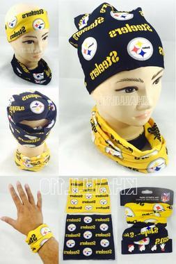 NFL Pittsburgh Steelers Fan Stretch Warp Bracelet/Hair Tie