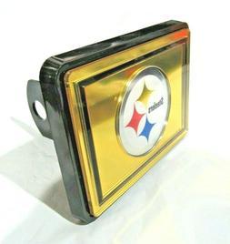 NFL Pittsburgh Steelers Gold Laser Cut Trailer Hitch Cap Cov