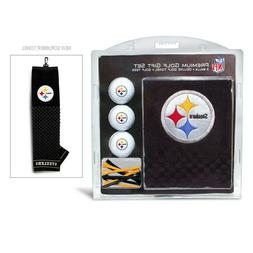 NFL Pittsburgh Steelers Golf Balls, Tees & Embroidered Towel