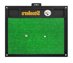 NFL - Pittsburgh Steelers Golf Hitting Mat in Black