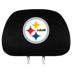 NFL Pittsburgh Steelers Head Rest Covers, 2-Pack