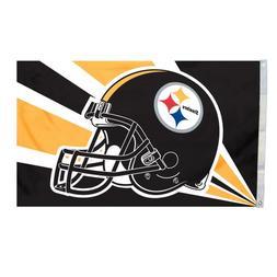 NFL Pittsburgh Steelers 3-by-5 Foot Helmet Flag