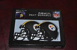 NFL Pittsburgh Steelers Jumbo Luggage Tags And Straps Set of