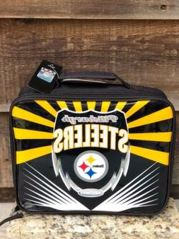 NFL-Pittsburgh Steelers Lightweight Tailgate Logo Lunch Box-