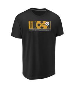 NFL Pittsburgh Steelers Men's Majestic Hook and Ladder T-Shi