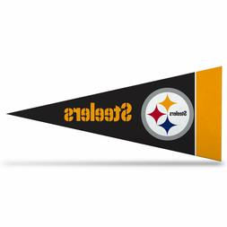 "NFL Pittsburgh Steelers Mini Pennant 9""x4"" Felt Banner Flag"