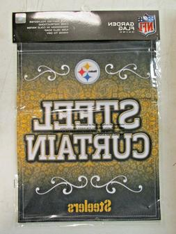 NFL Pittsburgh Steelers Premium 2-sided Paisley GARDEN Flag