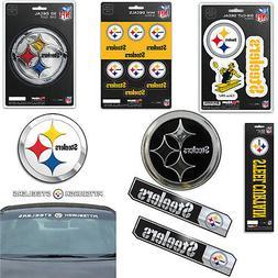 NFL Pittsburgh Steelers Premium Vinyl Decal / Sticker / Embl