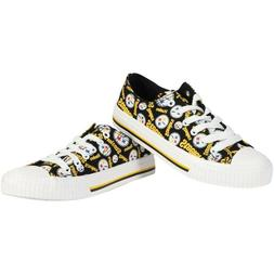 NFL Pittsburgh Steelers Repeat Print Low Top Sneakers Women'