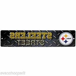 NFL Pittsburgh Steelers High-Res Plastic Street Sign