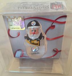 NFL Pittsburgh Steelers Santa Mini Snow Globe Christmas Holi