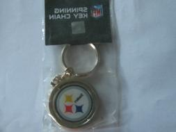 #NFL #Pittsburgh #Steelers #Spinning #Key Chains #New in Pac
